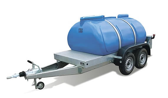 Water bowser trailers